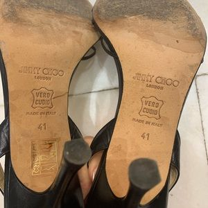 Jimmy Choo Evening Shoes with Crystals 41